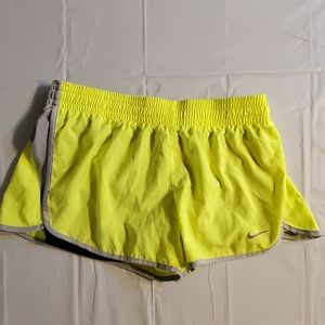 Nike dri fit womens medium jogging shorts